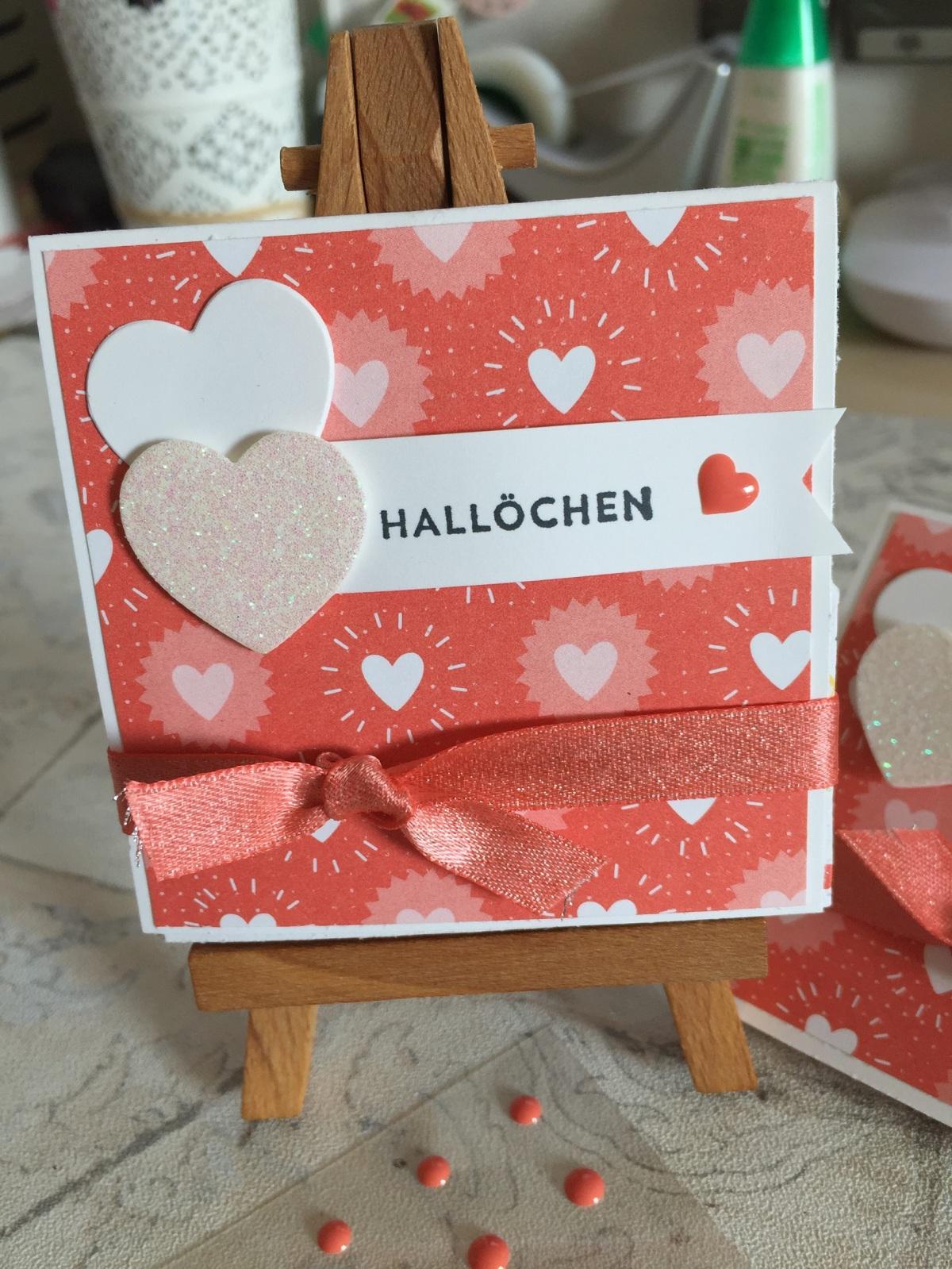 2018#9 kleine Valentins-Explosionskarte