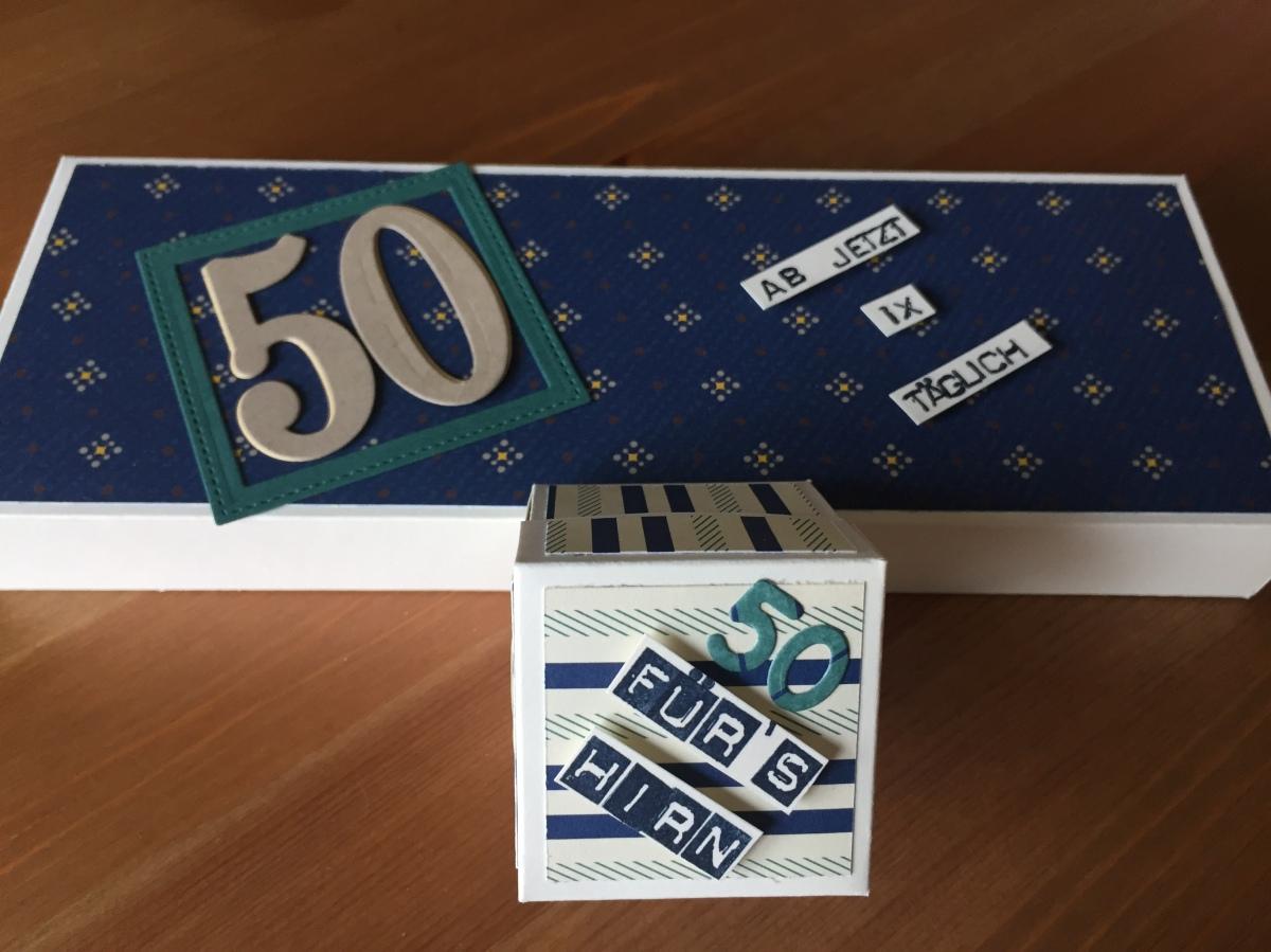 2018#6    Geschenk zum 50.Geburtstag