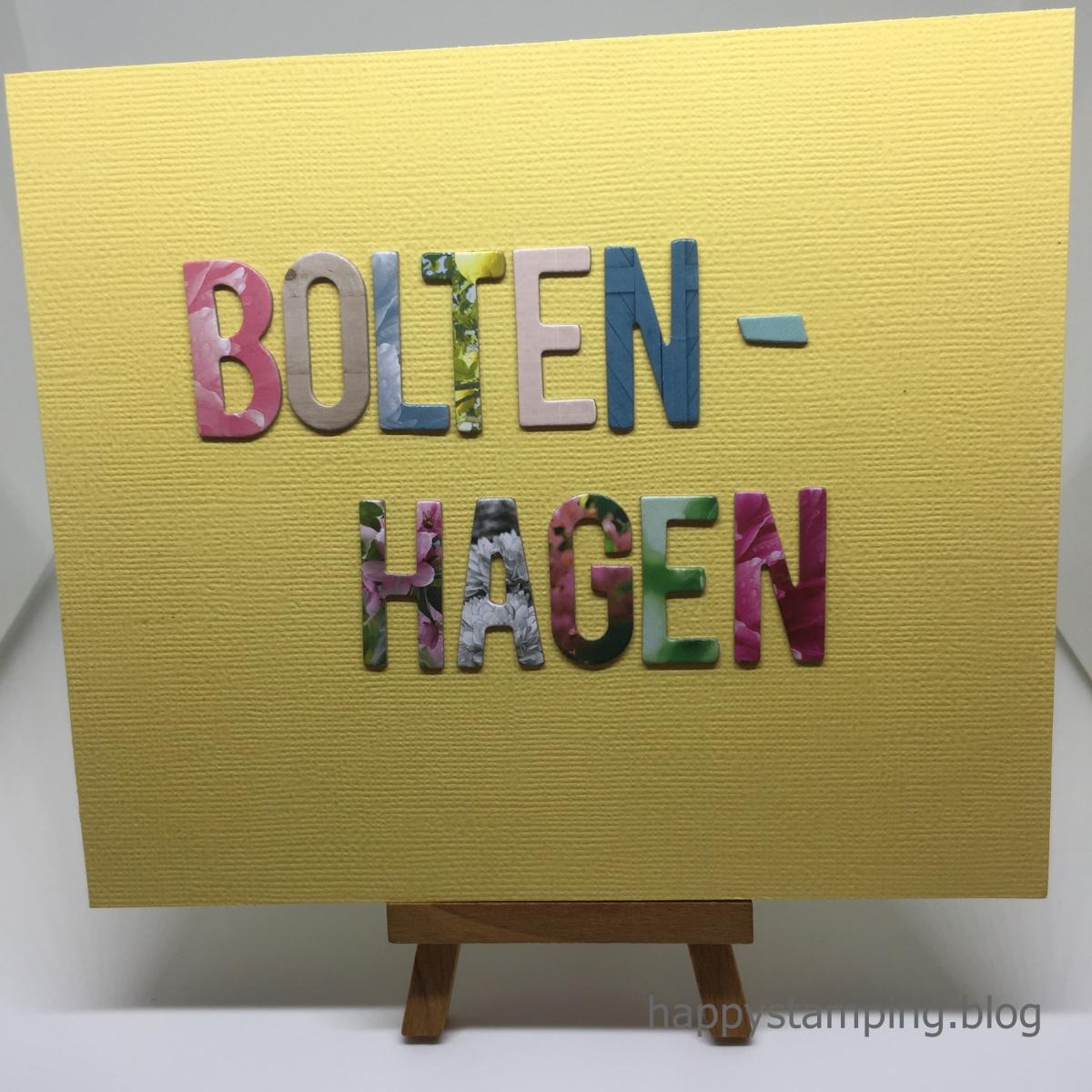 2018 # 63 MinialbumBoltenhagen